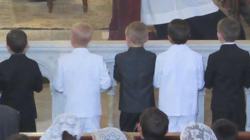 First Communicants (boys)